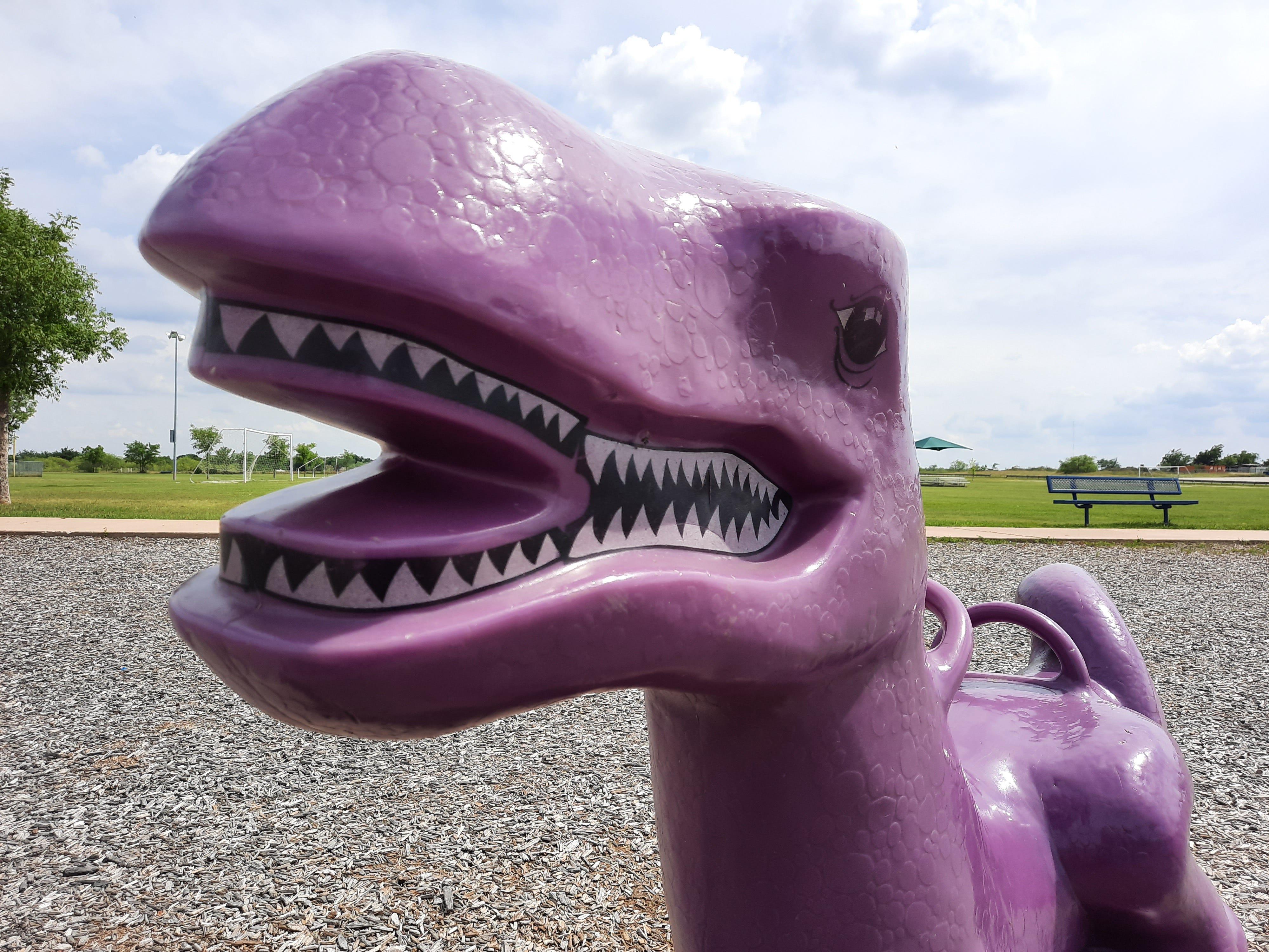 Playground dinosaur