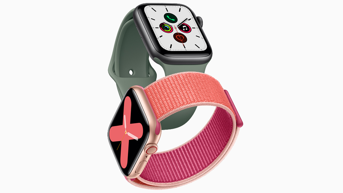 A photo of the Apple Watch Series 5