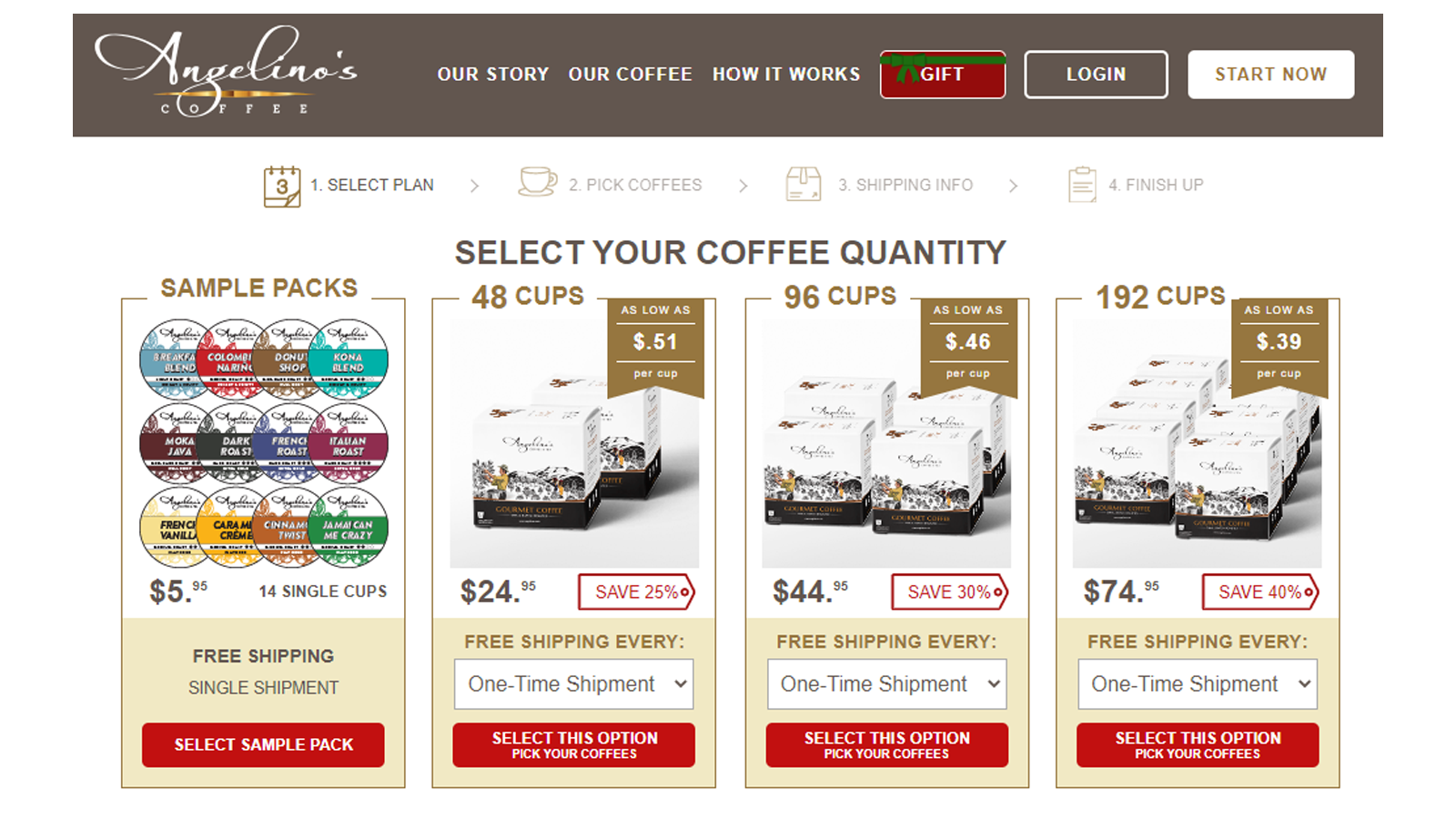 Angelino's best coffee subscription box for keurig k-cups for instant coffee
