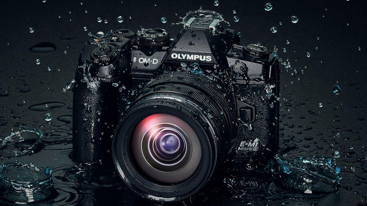 Olympus OM-D dSLR digital camera