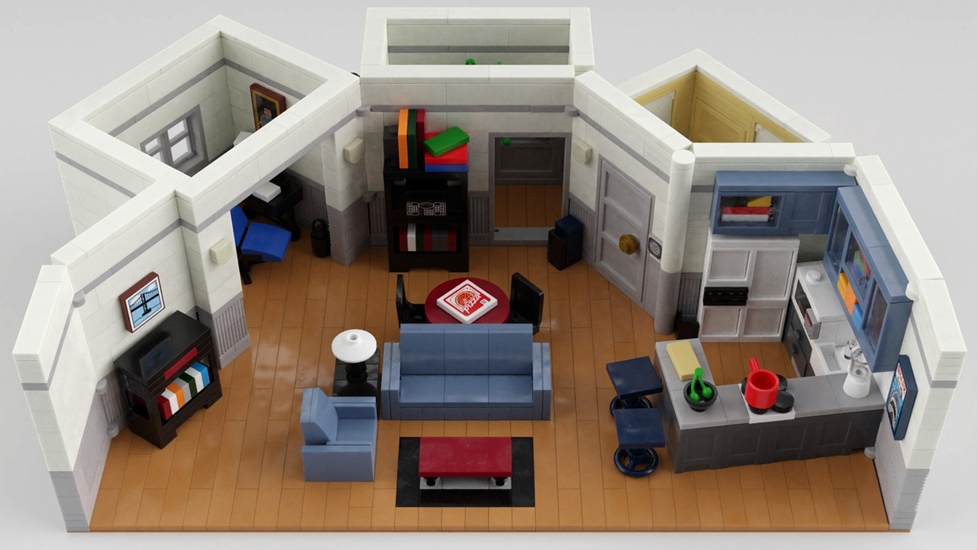 LEGO Seinfeld apartment
