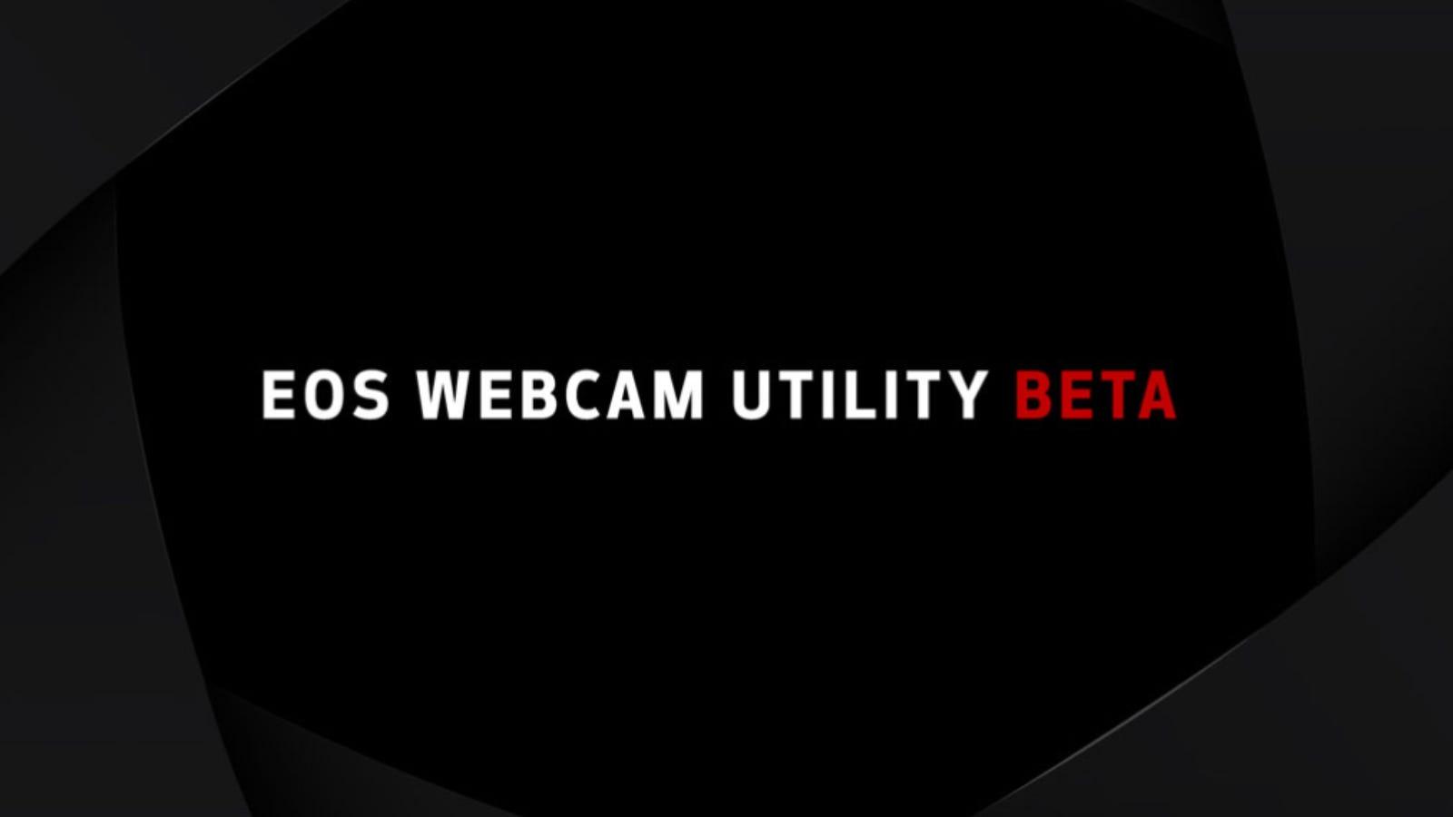 Canon Webcam Utility