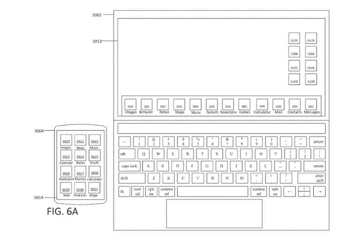 Apple patent for touchscreen laptop.