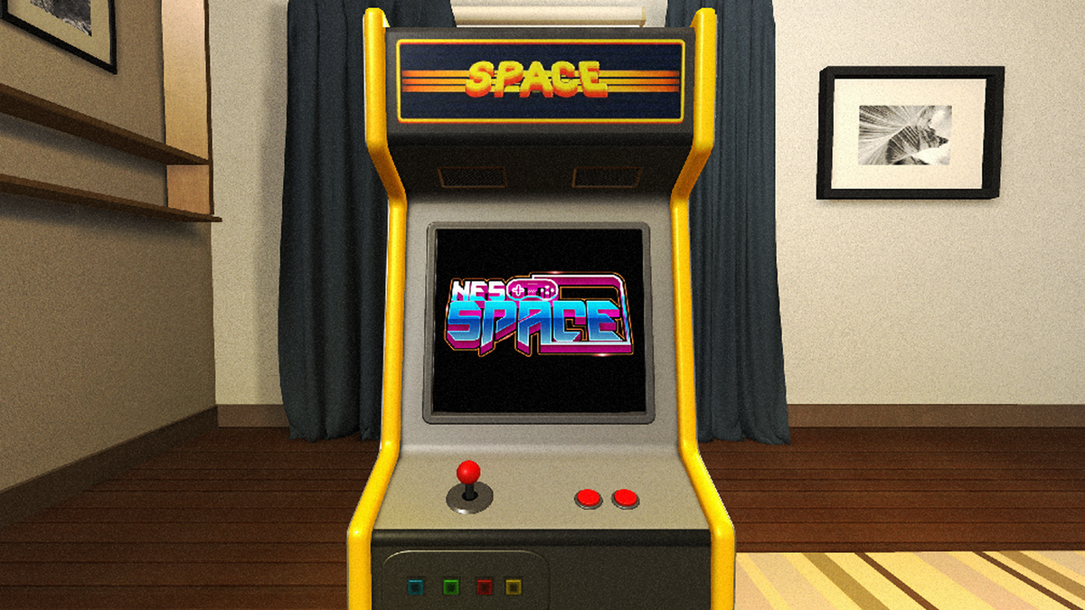 A photo of NES SPACE in action.