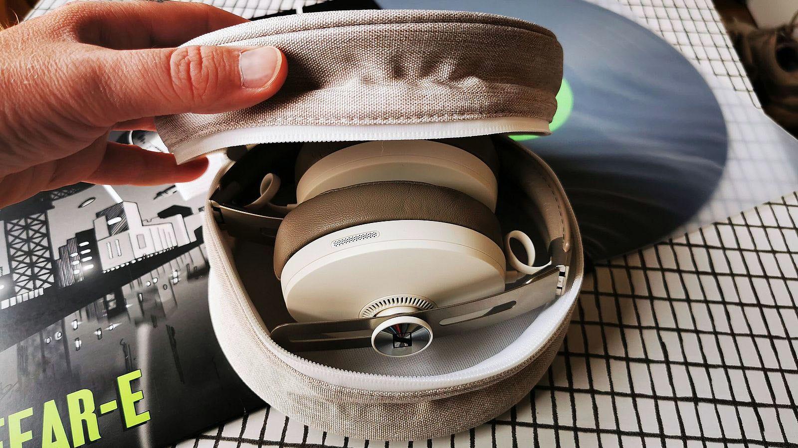 momentum 3 headphones folded in case