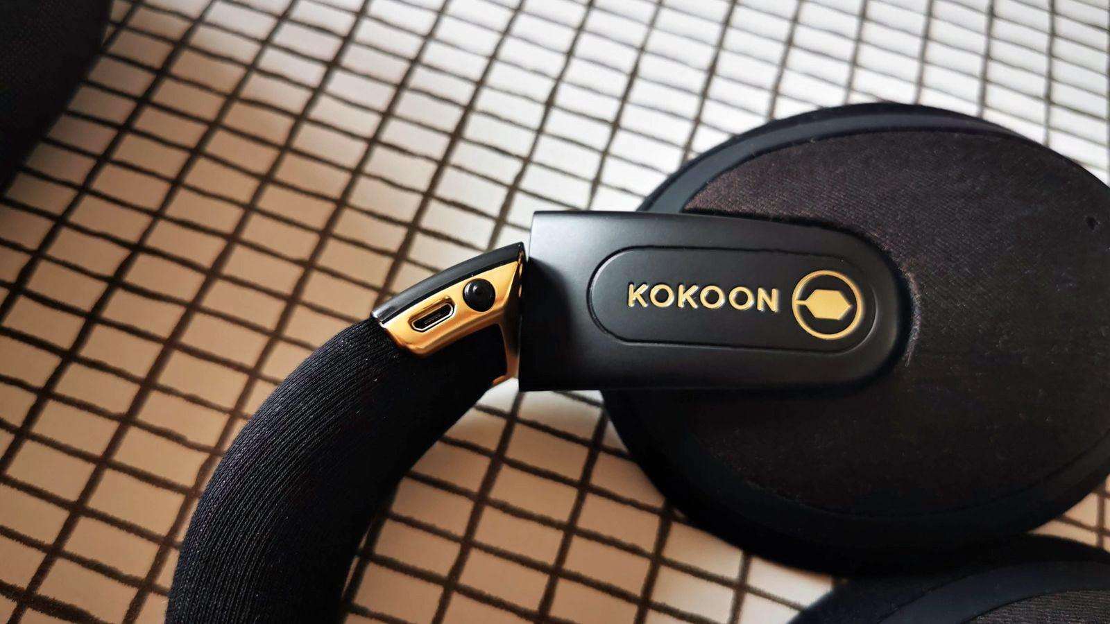 kokoon headphones right ear cup controls