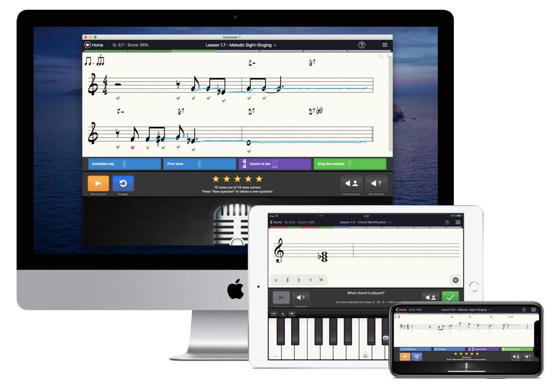 Ear Master 7 best musicianship lessons ear training rhythm training sight singing