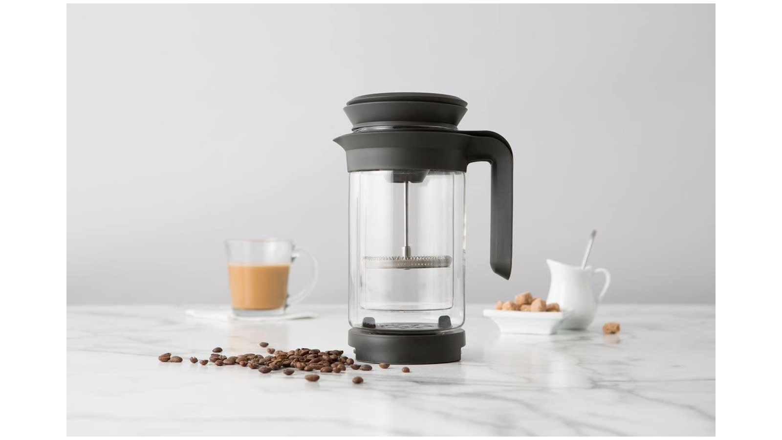 Chef'n 3-in-1 craft coffee maker brewing set for cold brew pour over and French press coffee