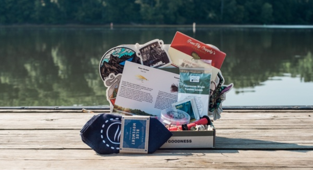 True Fly Supply best fishing subscription box for trout fishing warm water stillwater saltwater