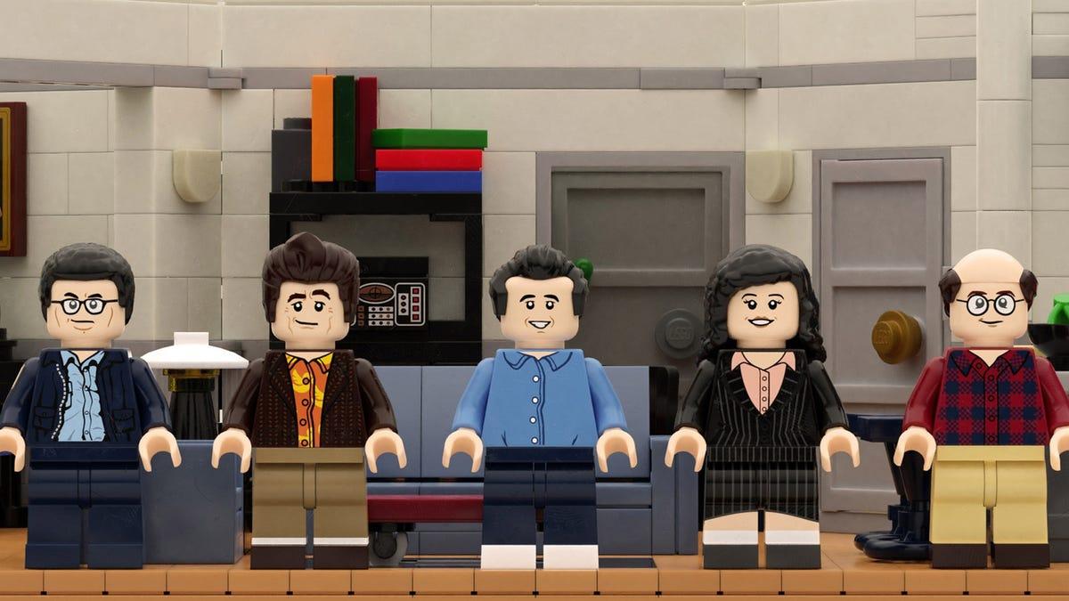 LEGo Seinfeld minifigs