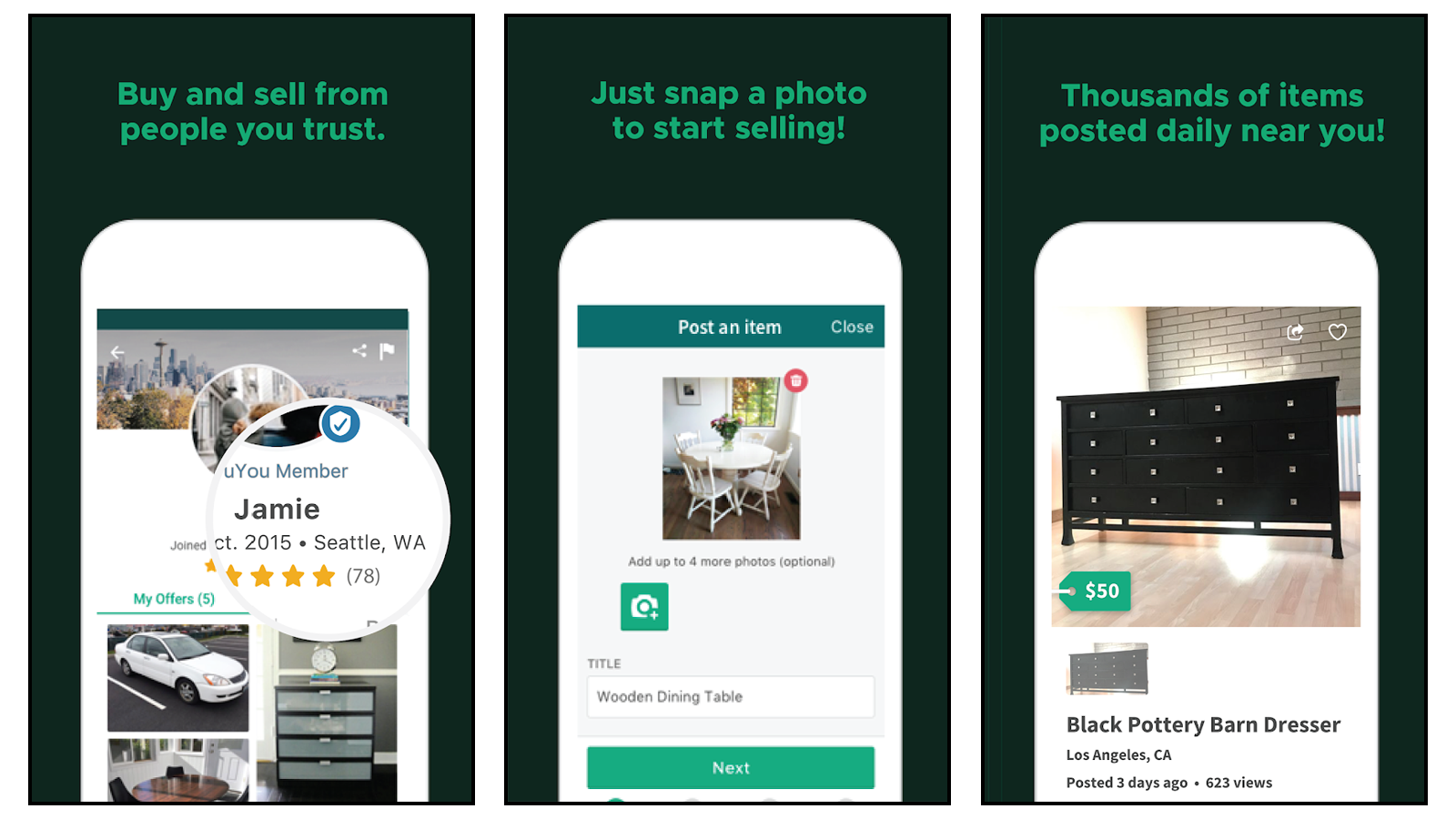 OfferUp buy and sell your stuff locally become an online seller