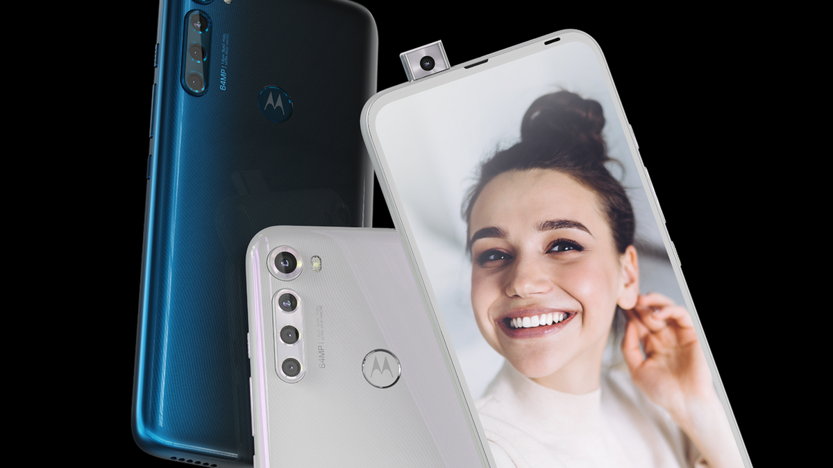 A photo of the Motorola One Fusion Plus Pop-Up Camera
