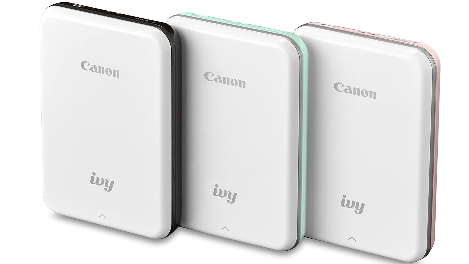 Canon Ivy Best premium photo printer for smartphones photo editing app