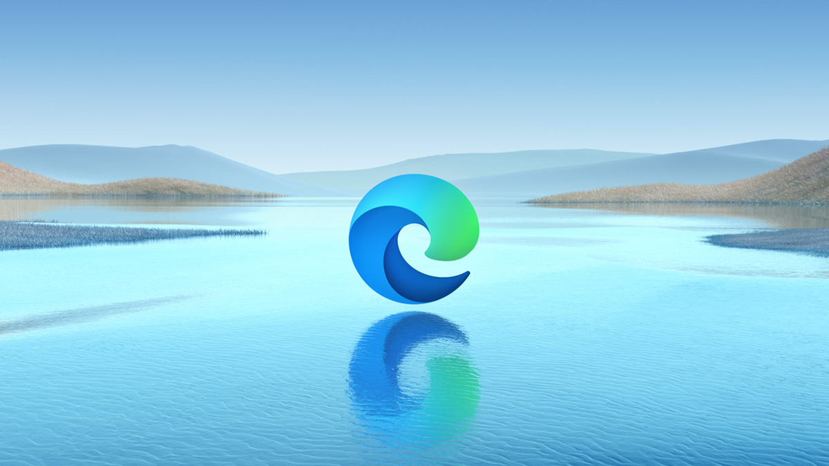 An illustration of the Microsoft Edge logo.