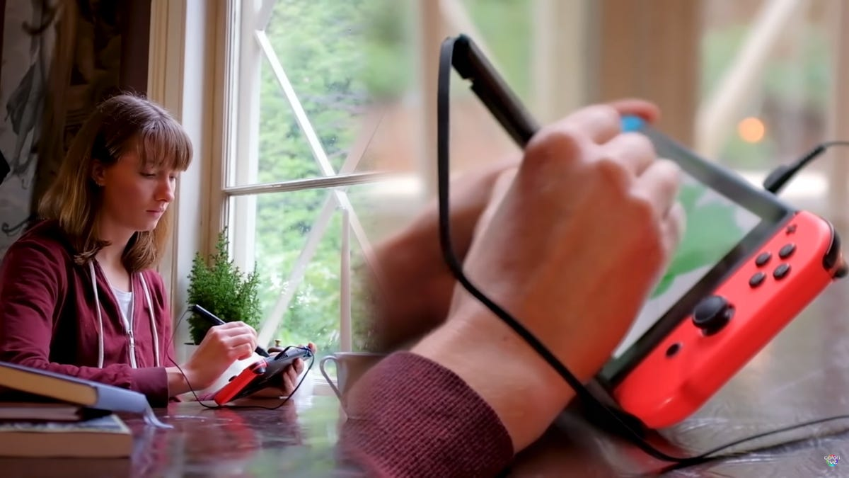 Colors Live with pressure-sensitive stylus on Switch