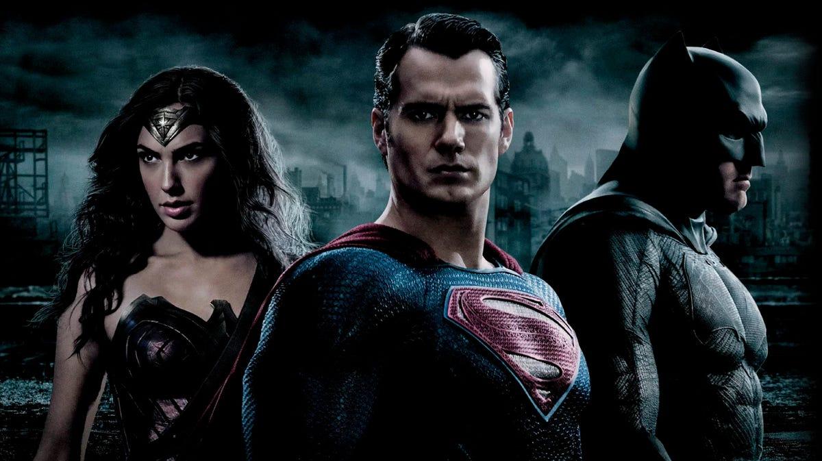 Promo image from Batman vs. Superman