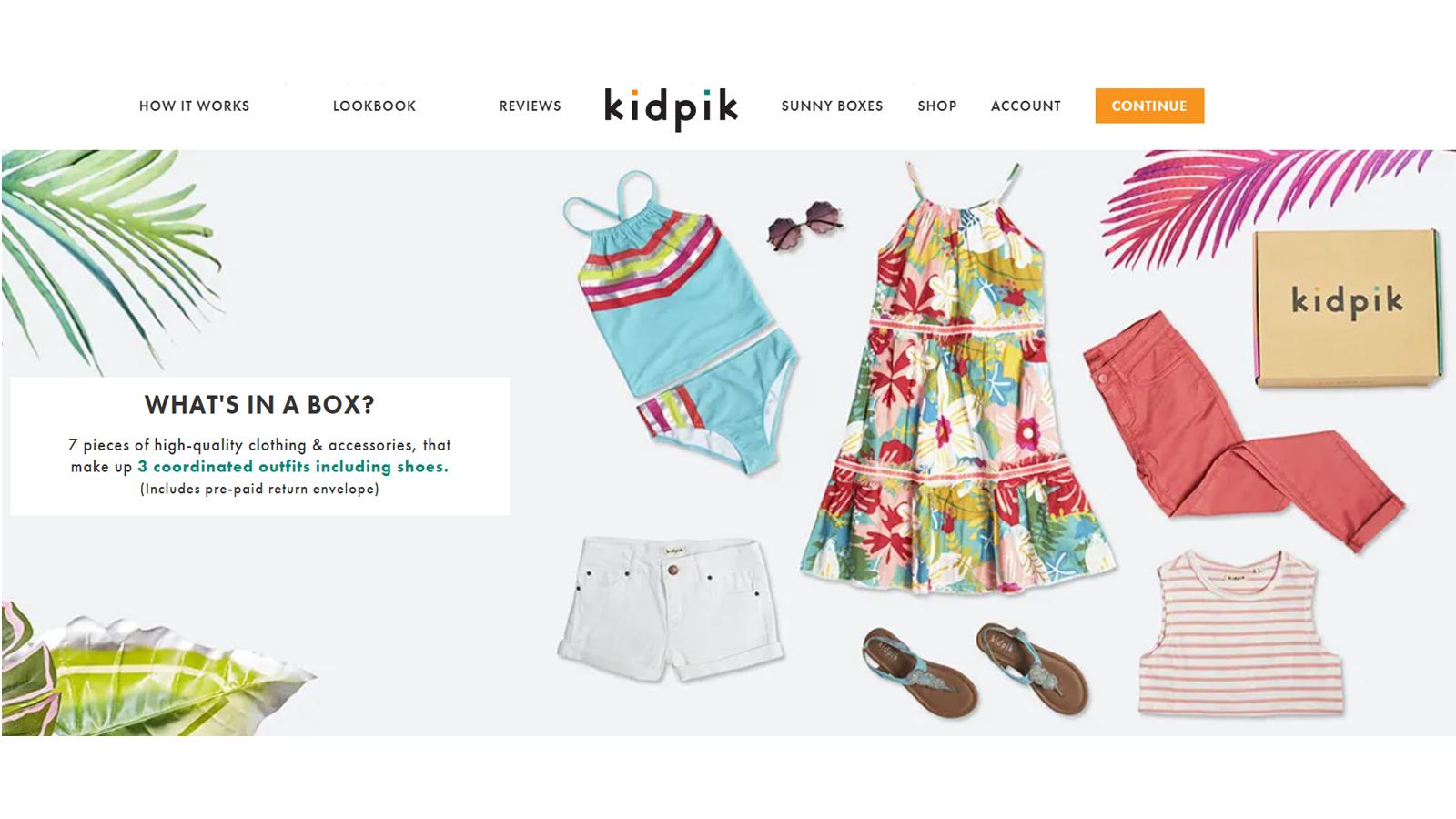 kidpik best kids clothing subscription service
