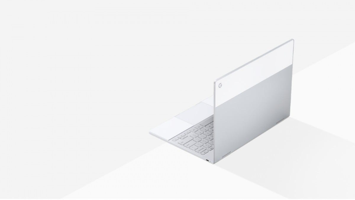 A photo of the Google Pixelbook.
