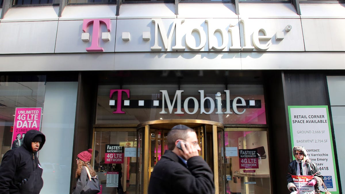 T-Mobile retail store front