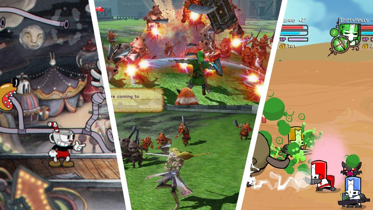 Cuphead, Hyrule Warriors, Castle Crashers