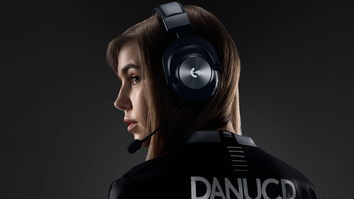 Logitech G Pro X Lightspeed headset