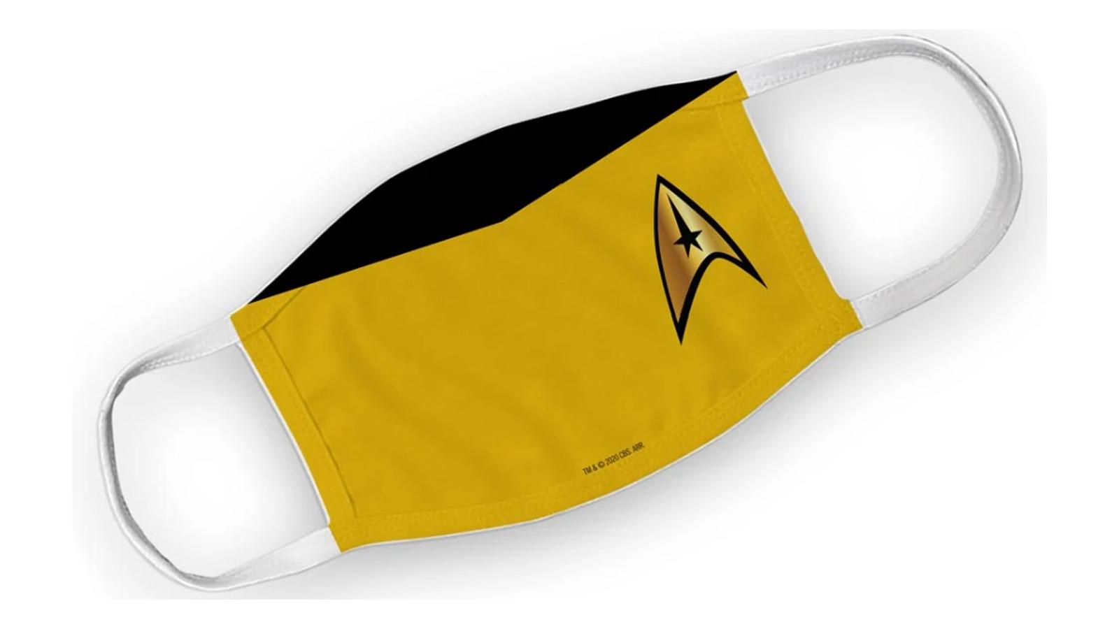 Best Star Trek face mask original series the next generation captain kirk spock picard red shirt