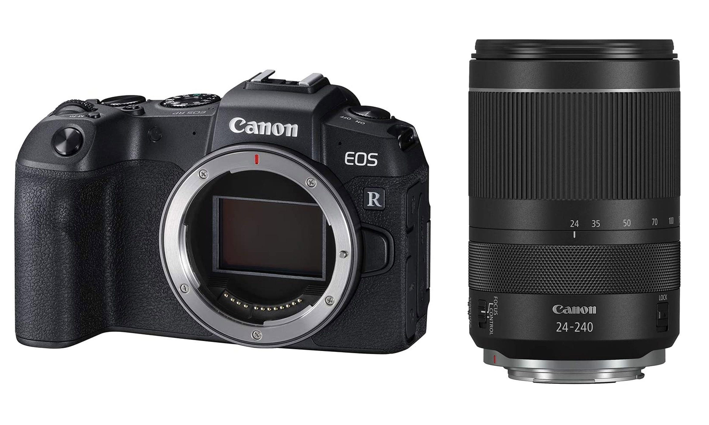 Canon EOS RP camera and 24-240mm lens