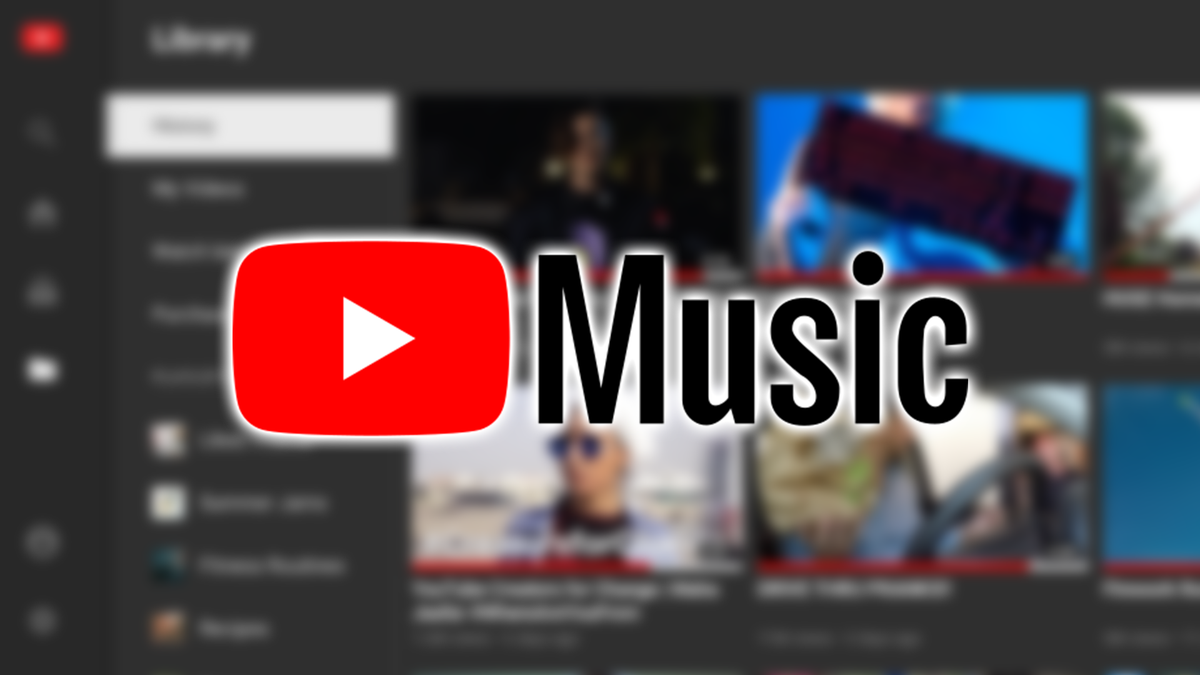 The YouTube Music logo.