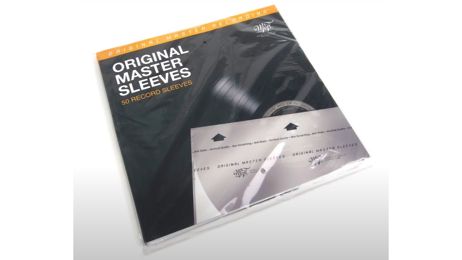 Mobile Fidelity Original Master Inner Sleeves pack of 50 for protecting your records