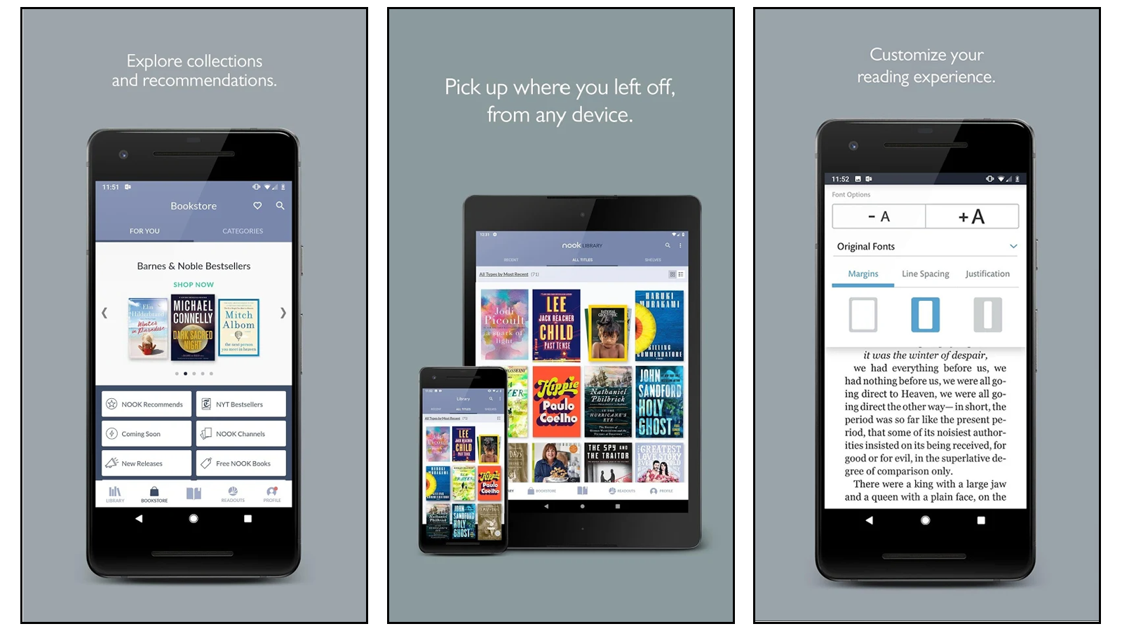 Nook best book reading app for nook owners barnes & noble books
