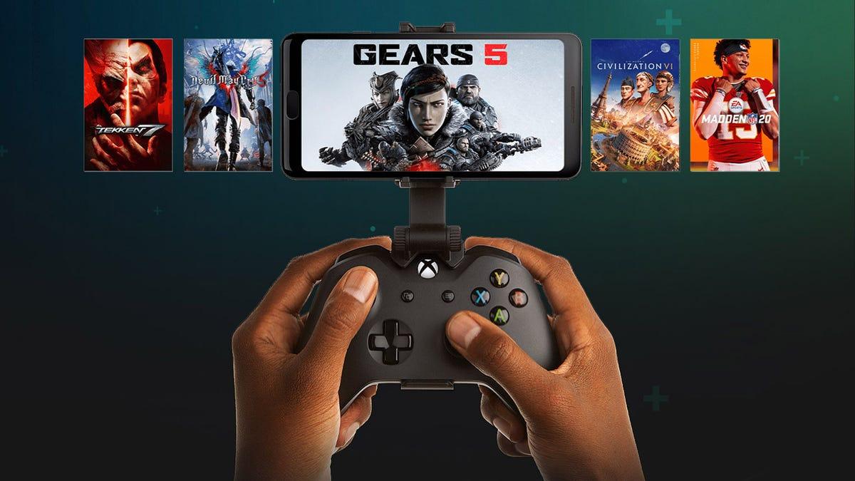 xCloud game streaming service