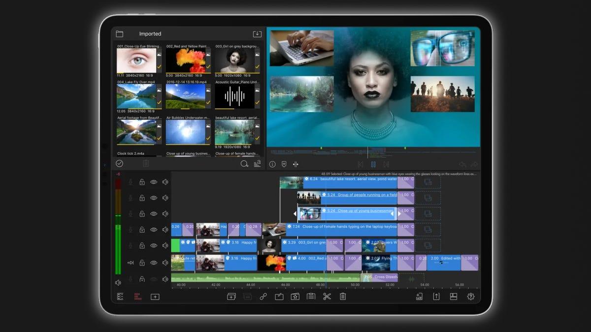 Luma Fusion on iPad
