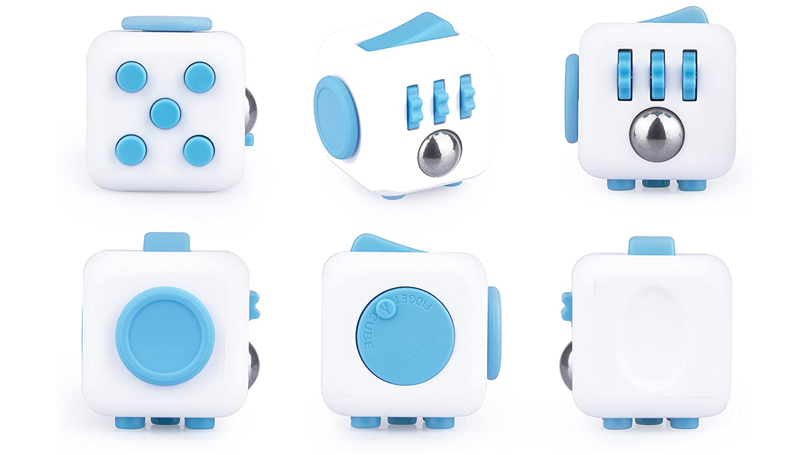 Antsy Labs fidget cube has six activities total each side with its own for fidgety hands
