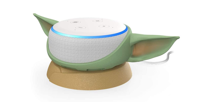 Put Baby Yoda Ears on Your Echo Dot, You Must
