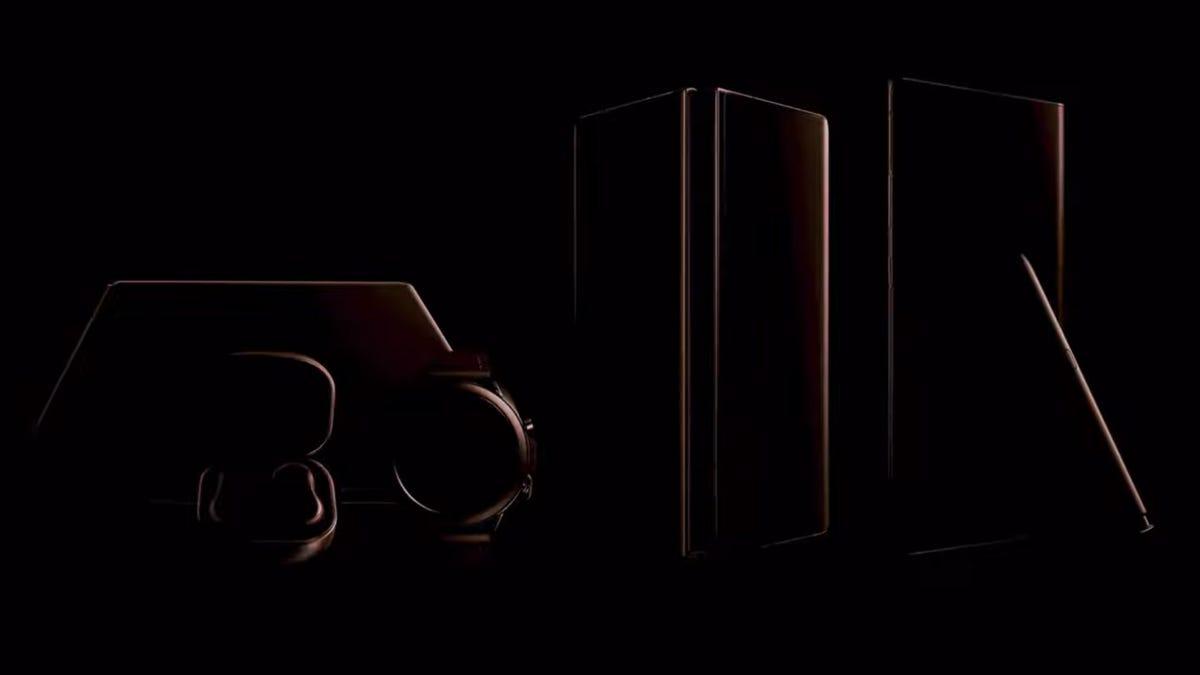 Still from Samsung Unpacked teaser trailer