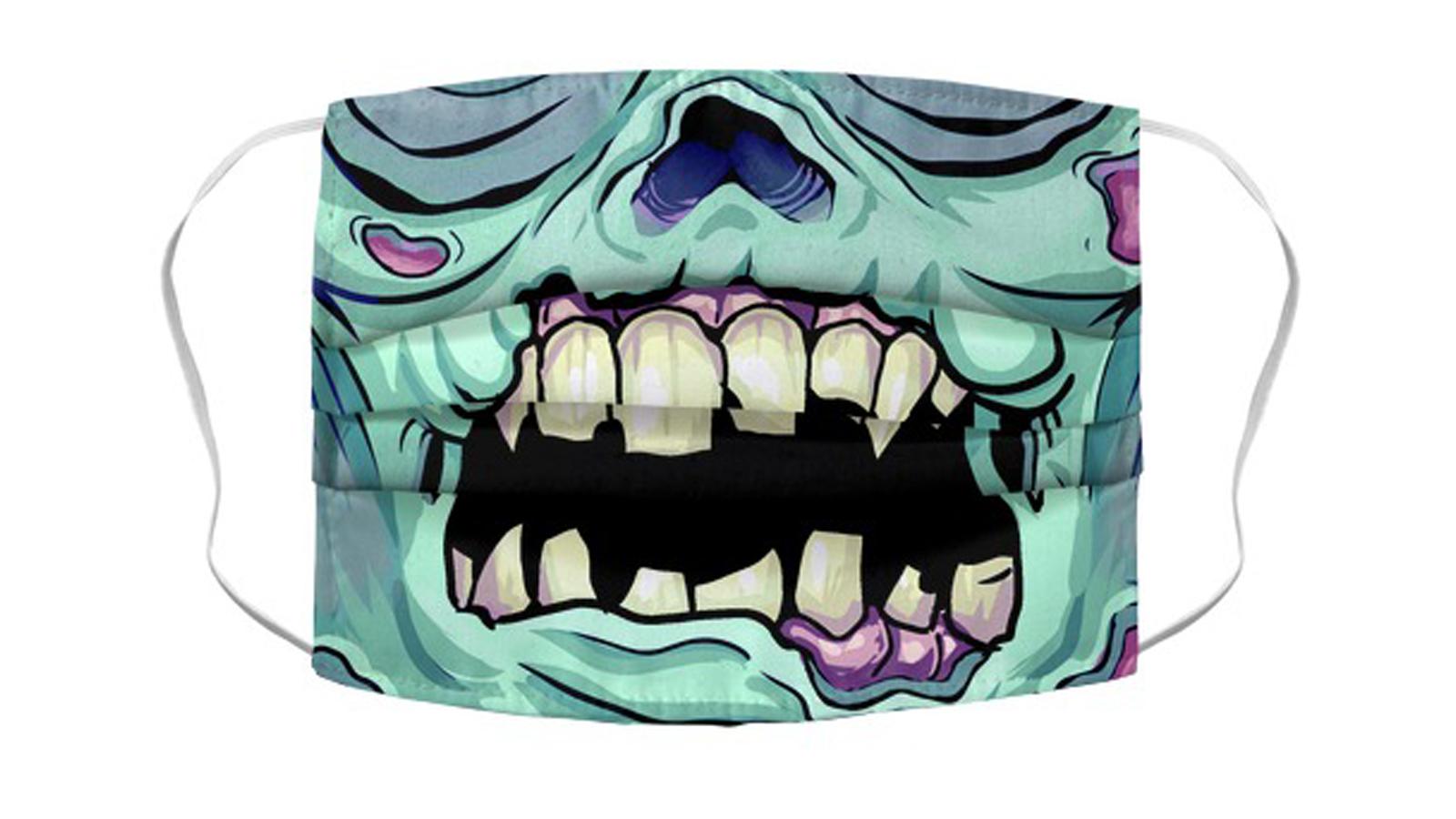 Best zombie face mask the walking dead the last of us walkers biters