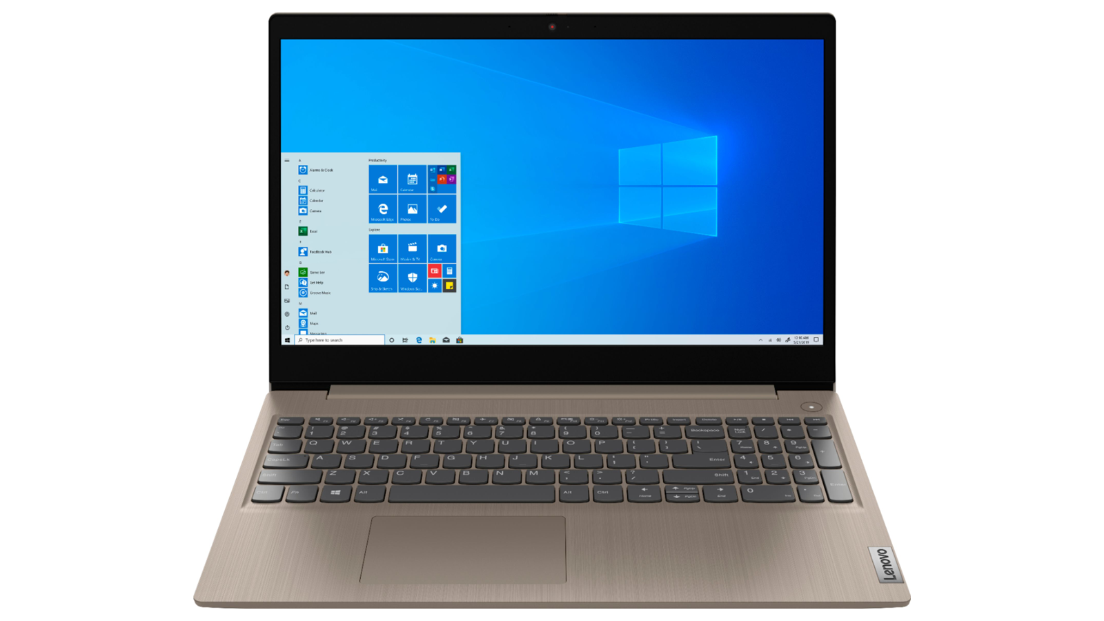 """Windows Lenovo IdeaPad 3 15"""" laptop with touch screen"""