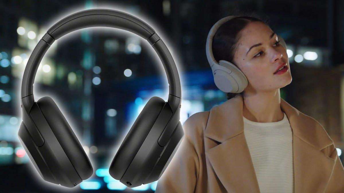 Sony's WH-1000XM4 ANC headphones.