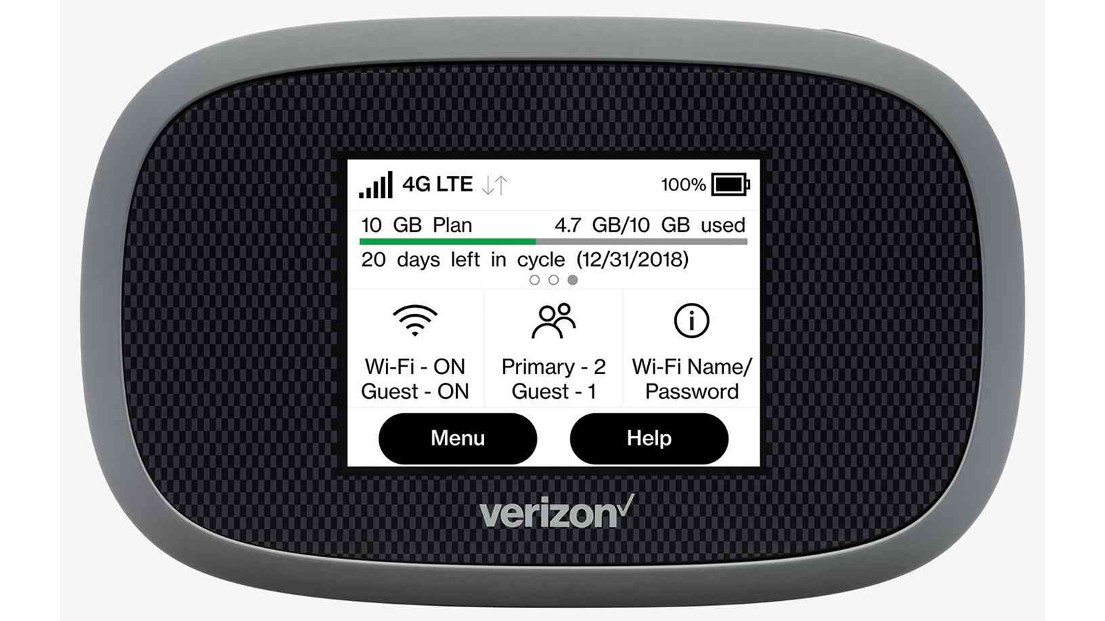 Verizon Jetpack 4G LTE Mobile Hotspot MiFi 8800L hotspot device with the best coverage