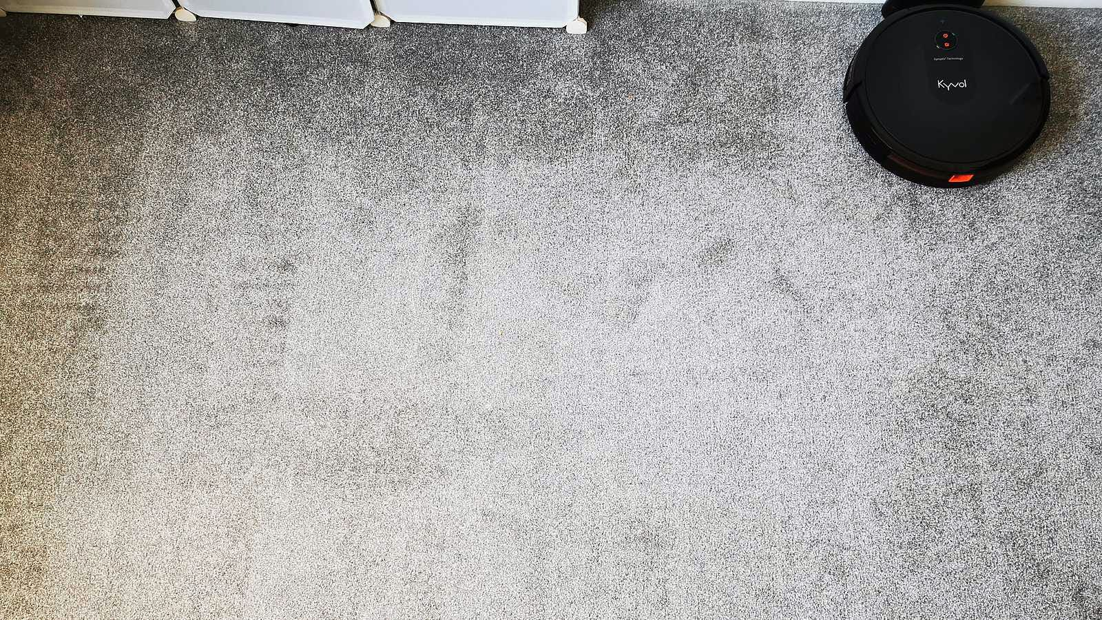 a clean carpet with the linear mode shown by the carpet pile