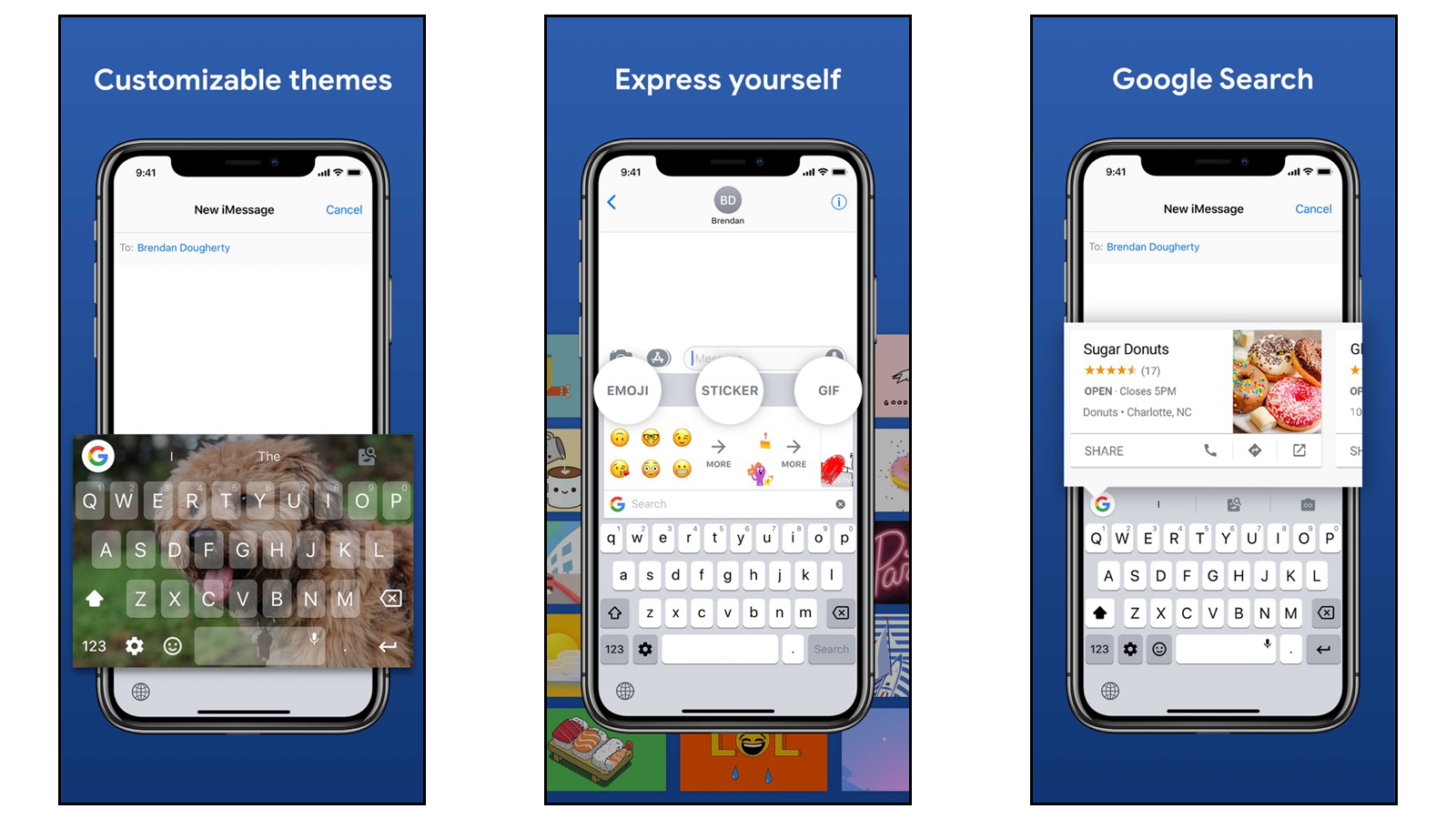Gboard for powerful features, easy emoji searching, and more