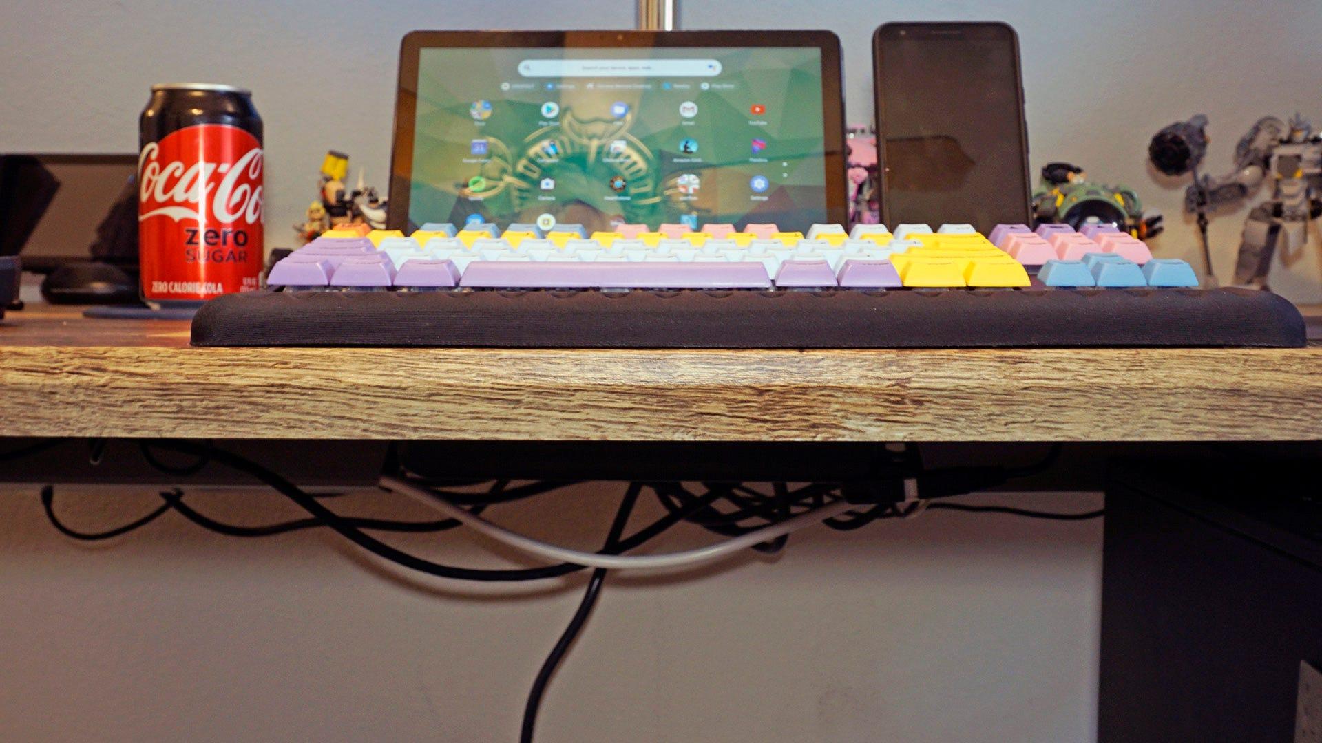Vari Desk's thick top
