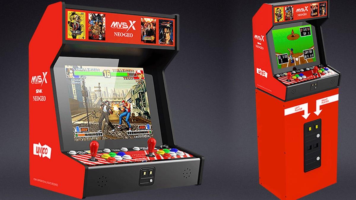 Neo Geo MVSX arcade machine