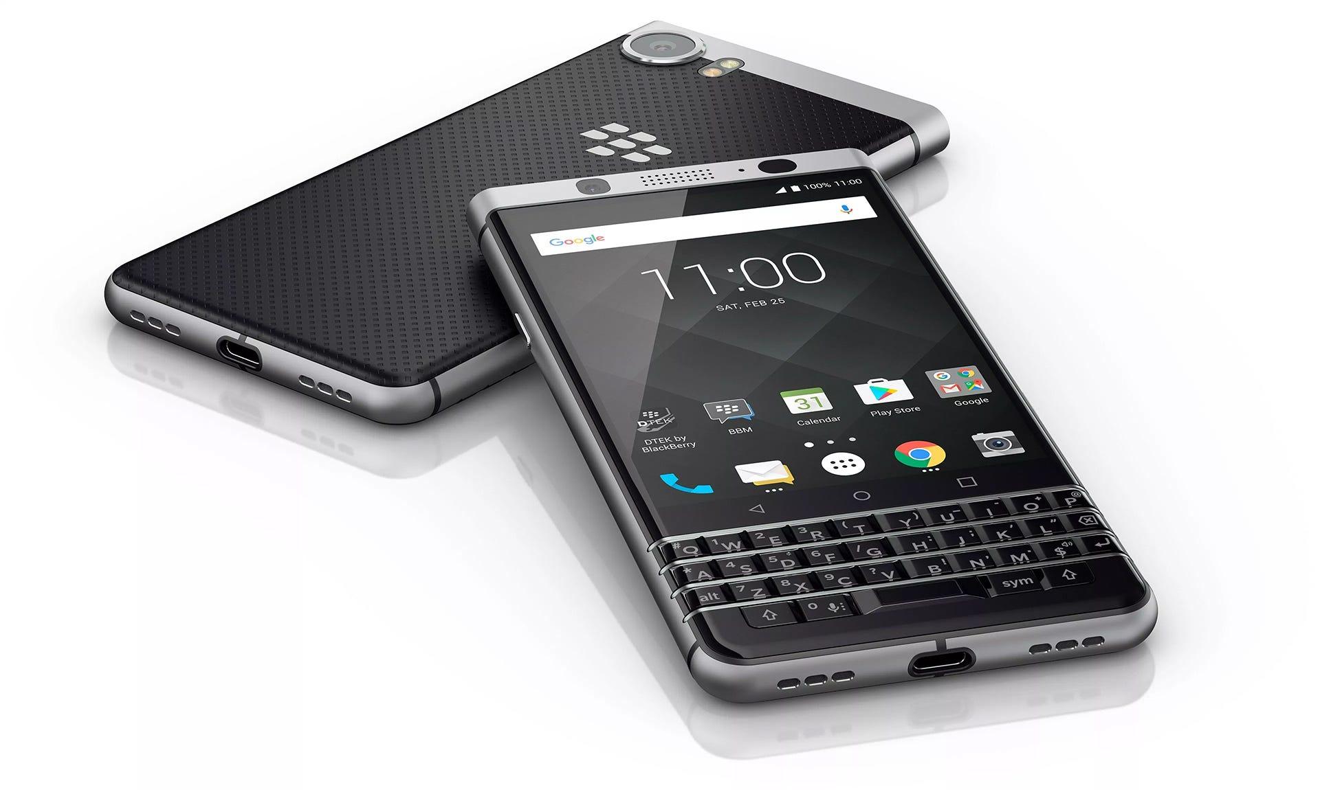 BlackBerry KeyOne phone