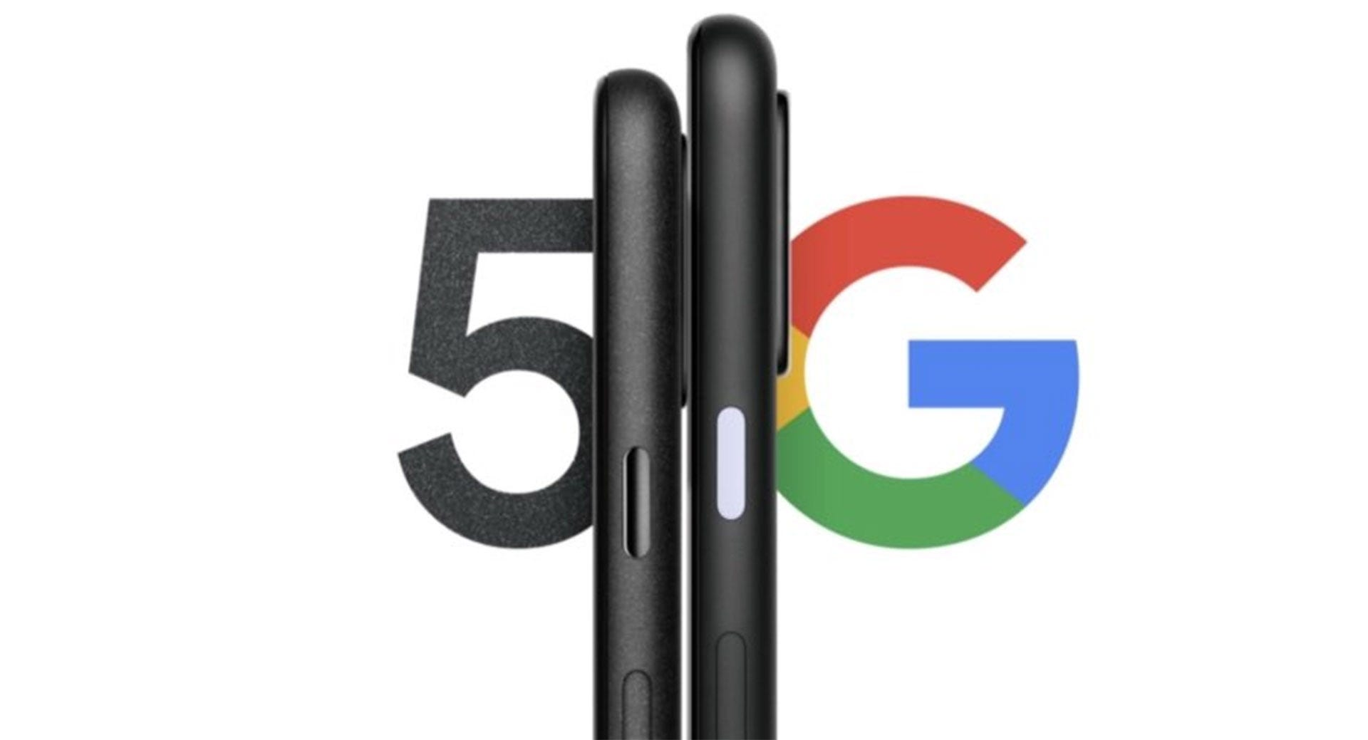 Pixel 4a 5G and Pixel 5 teaser image