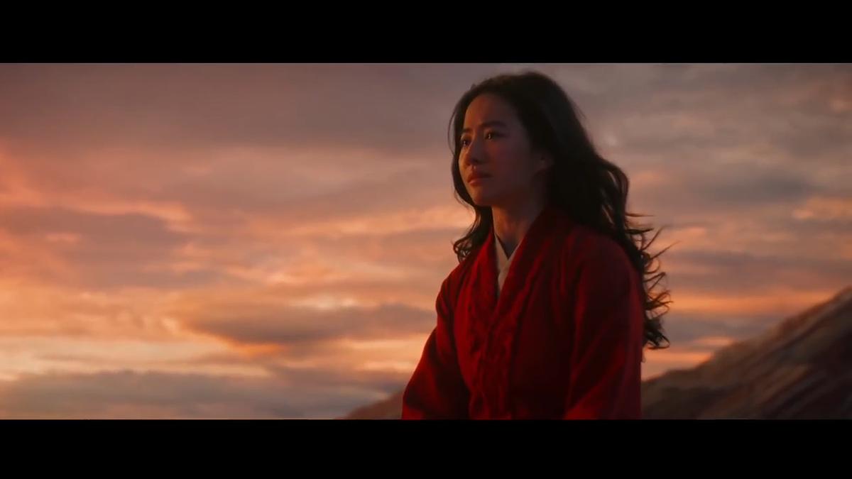 A still from the 'Mulan' trailer.