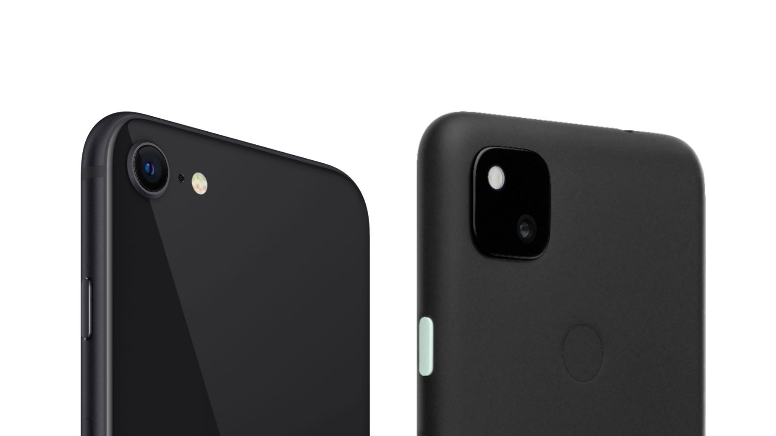 Pixel 4a and iPhone SE Cameras
