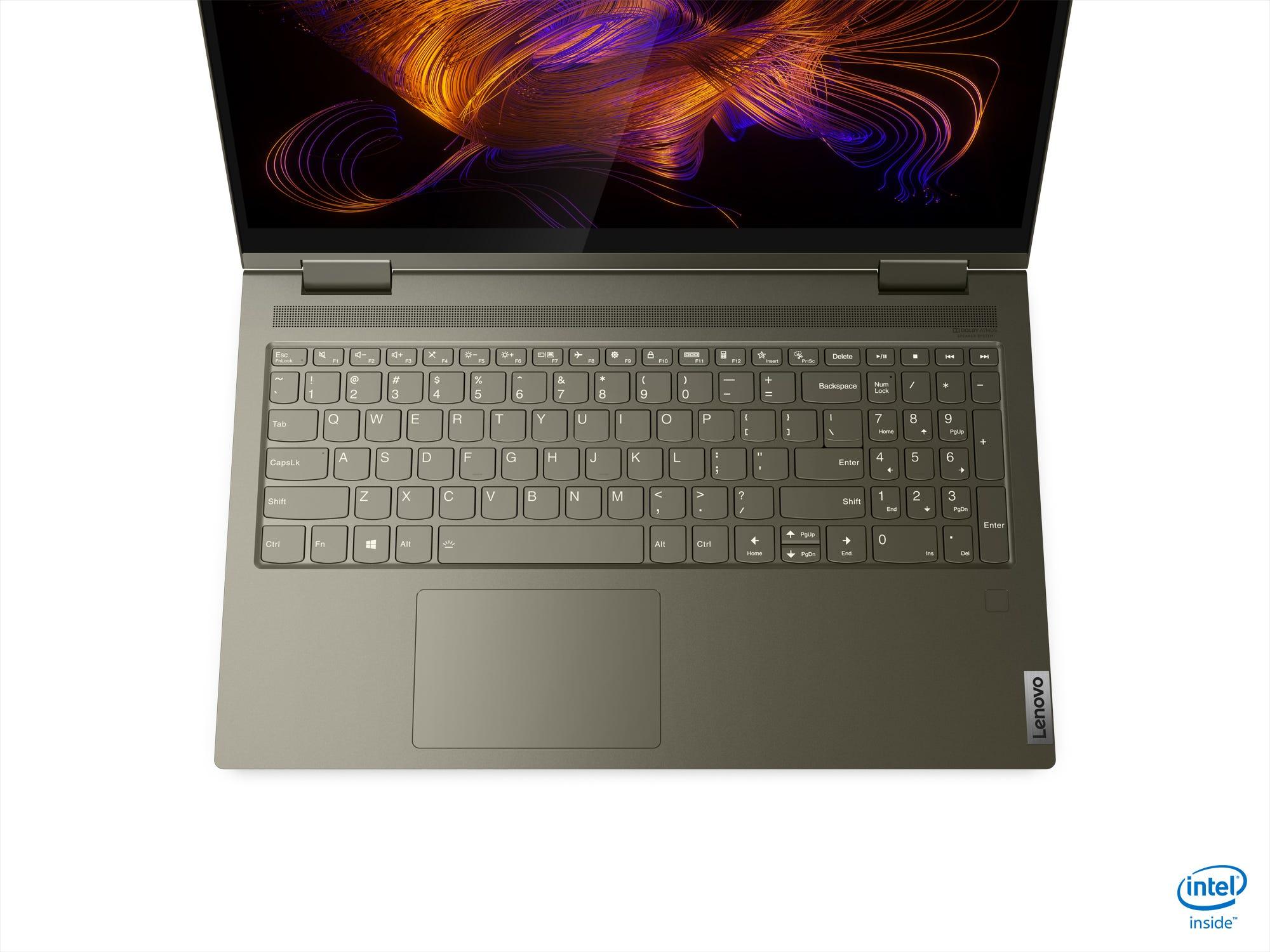 Lenovo Yoga 7i keyboard
