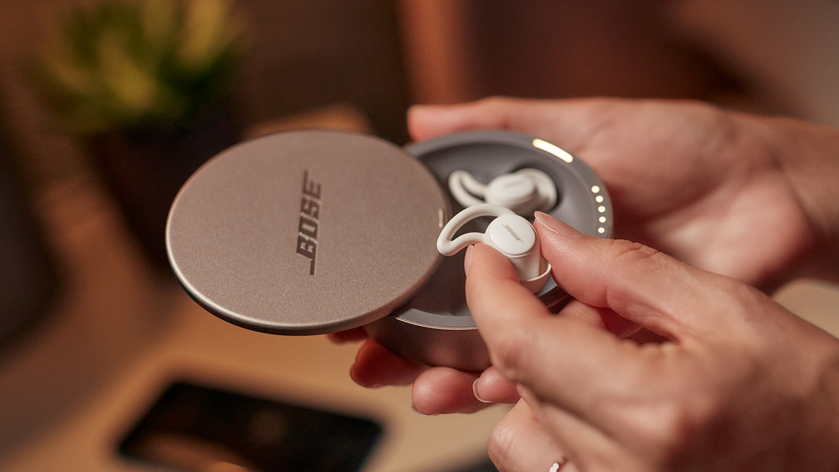 A photo of the Bose Sleepbuds 2.