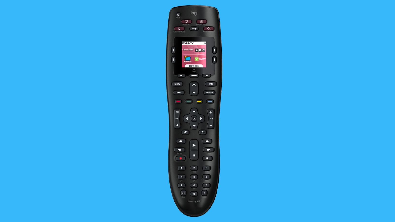 Logitech Harmony 665 remote